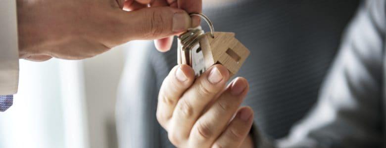 Odbiór klucz do domu